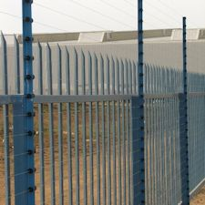 Electric fencing and Palisade fence
